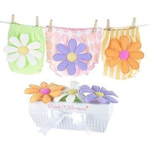 Baby Aspen flower  bloomer Set 6/12 month bloomers